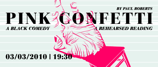 'Pink Confetti' Reading in London
